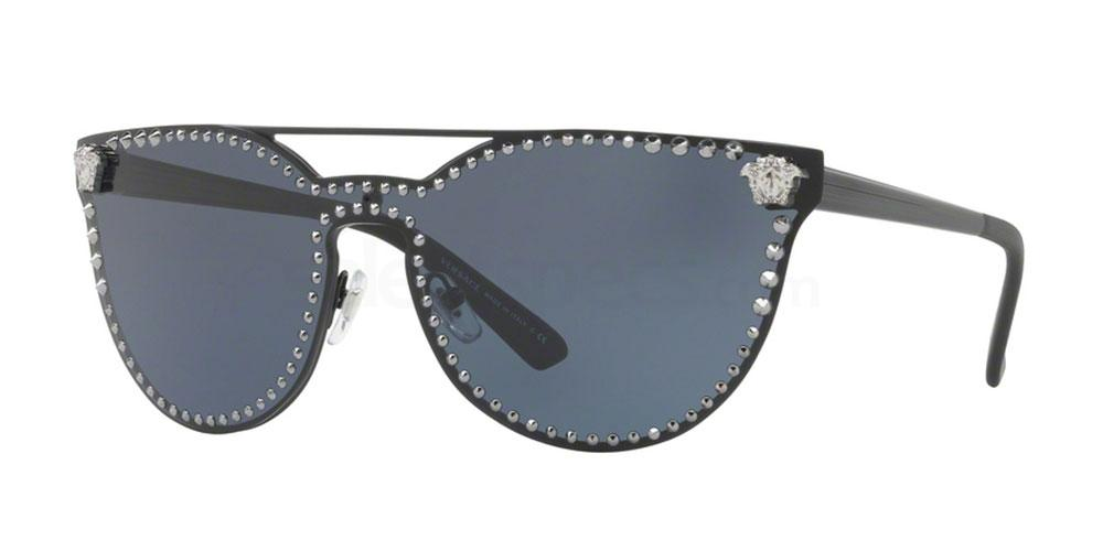 Versace cat eye sunglasses black