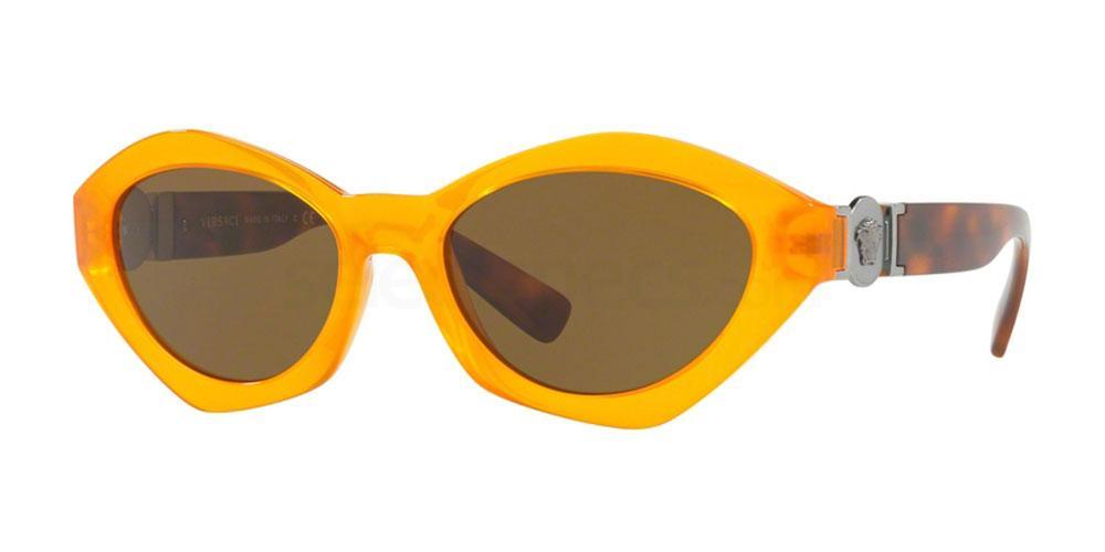 yellow sunglasses nyfw trend