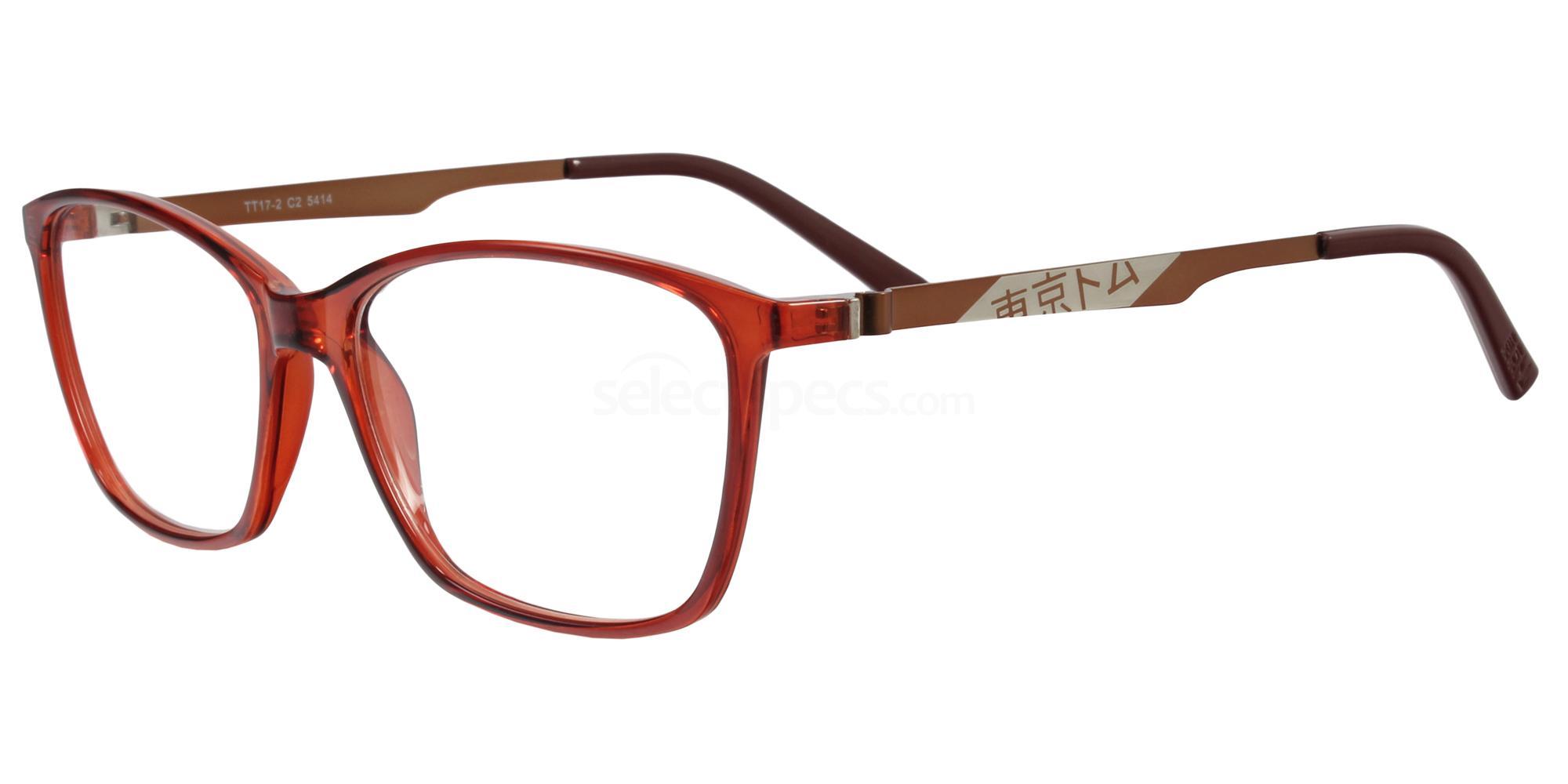 C2 TT17 Glasses, Tokyo Tom