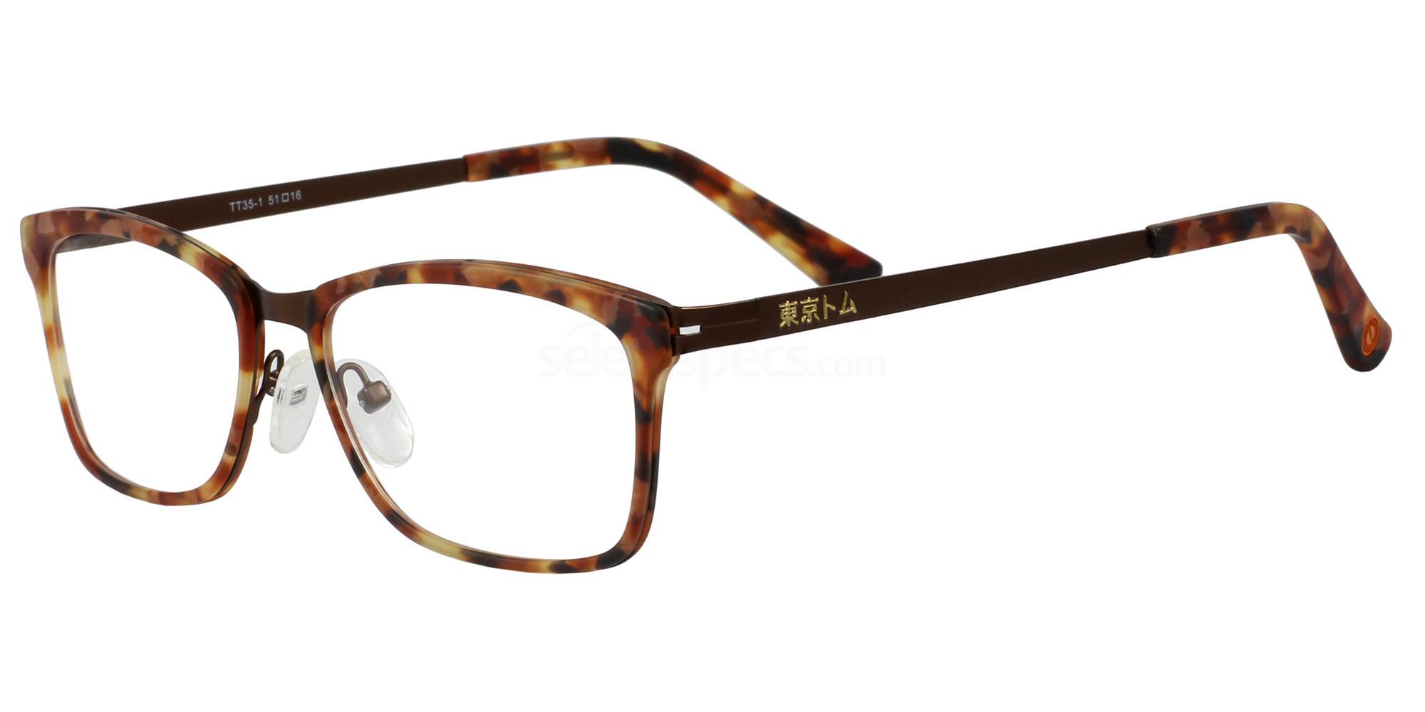 C1 TT35 Glasses, Tokyo Tom