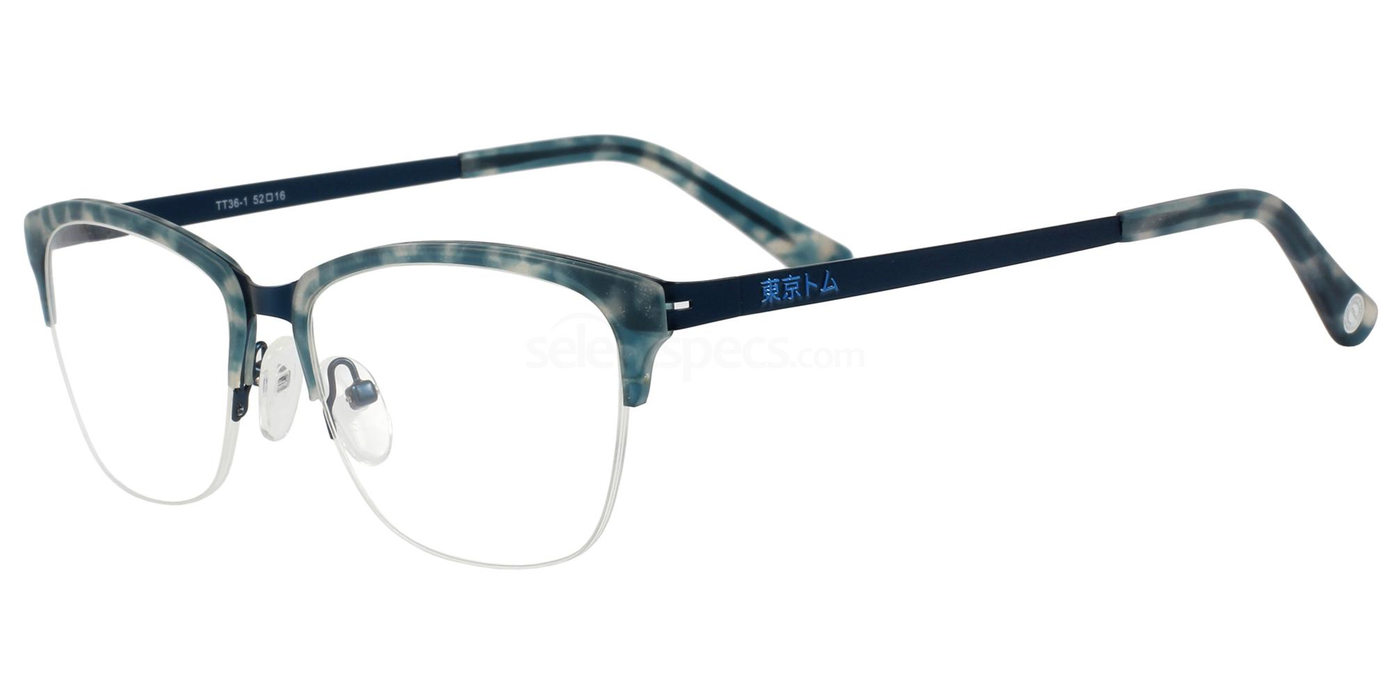 C1 TT36 Glasses, Tokyo Tom