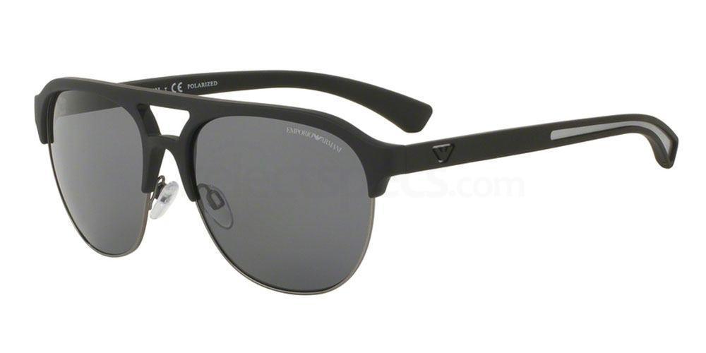 506381 EA4077 Sunglasses, Emporio Armani