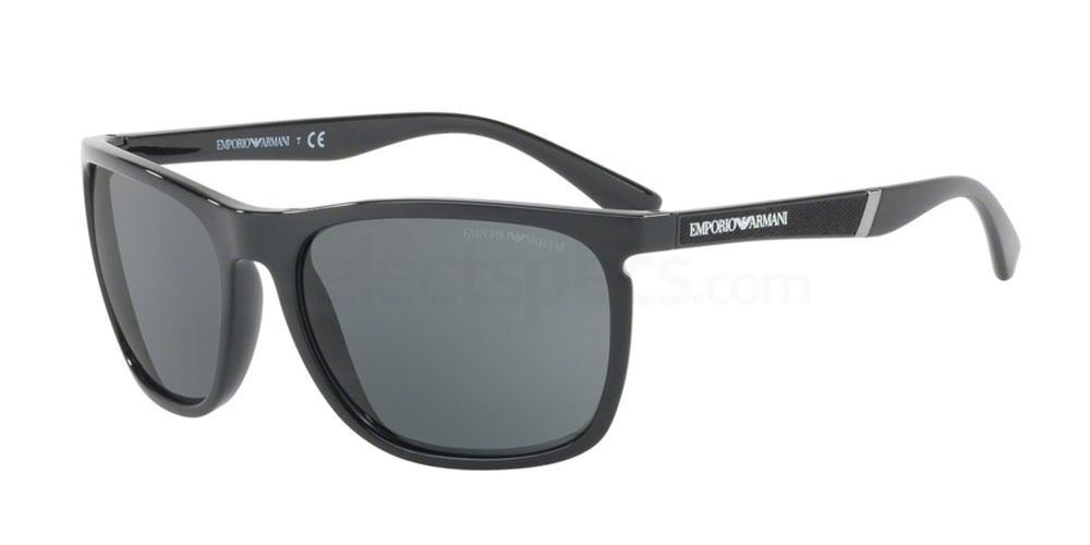 501787 EA4107 Sunglasses, Emporio Armani