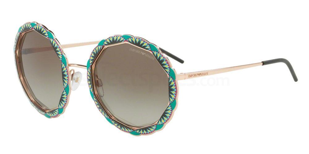 31678E EA2054 Sunglasses, Emporio Armani
