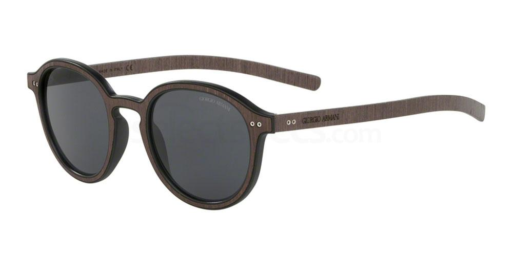 552687 AR8081 Sunglasses, Giorgio Armani
