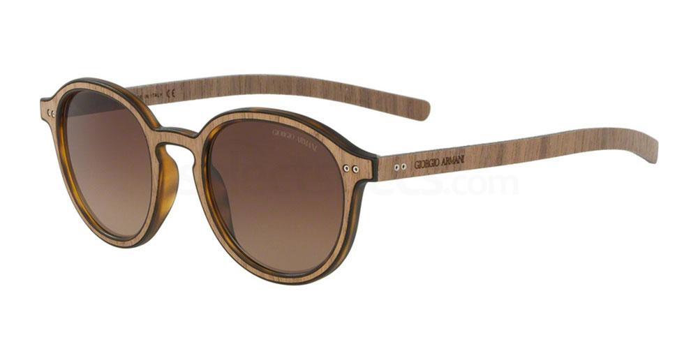 552713 AR8081 Sunglasses, Giorgio Armani
