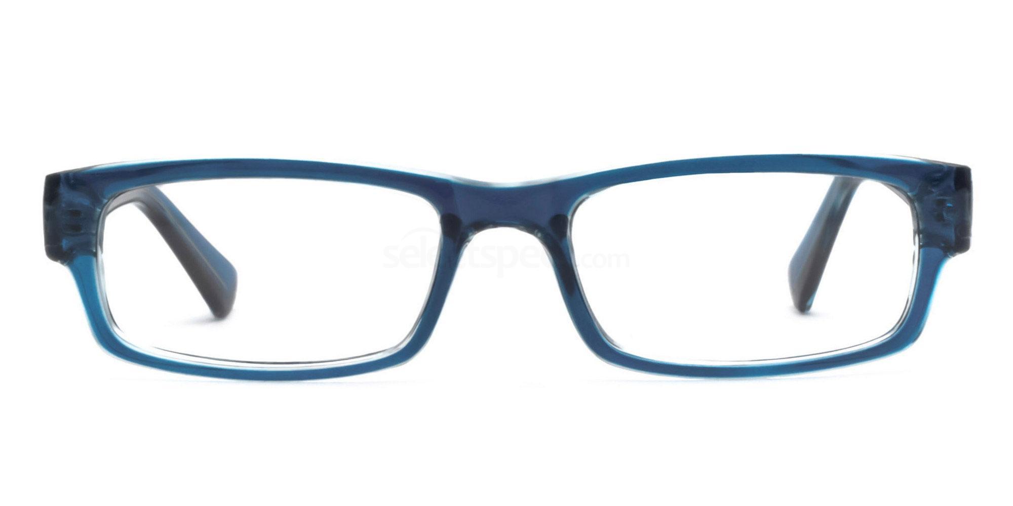 C6 Blue 77063 (Blue) Glasses, Savannah