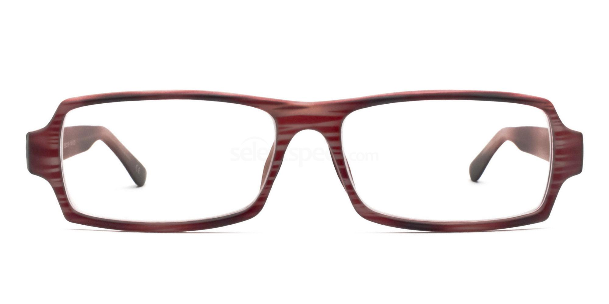 C5 Red 77068 (Red) Glasses, Savannah