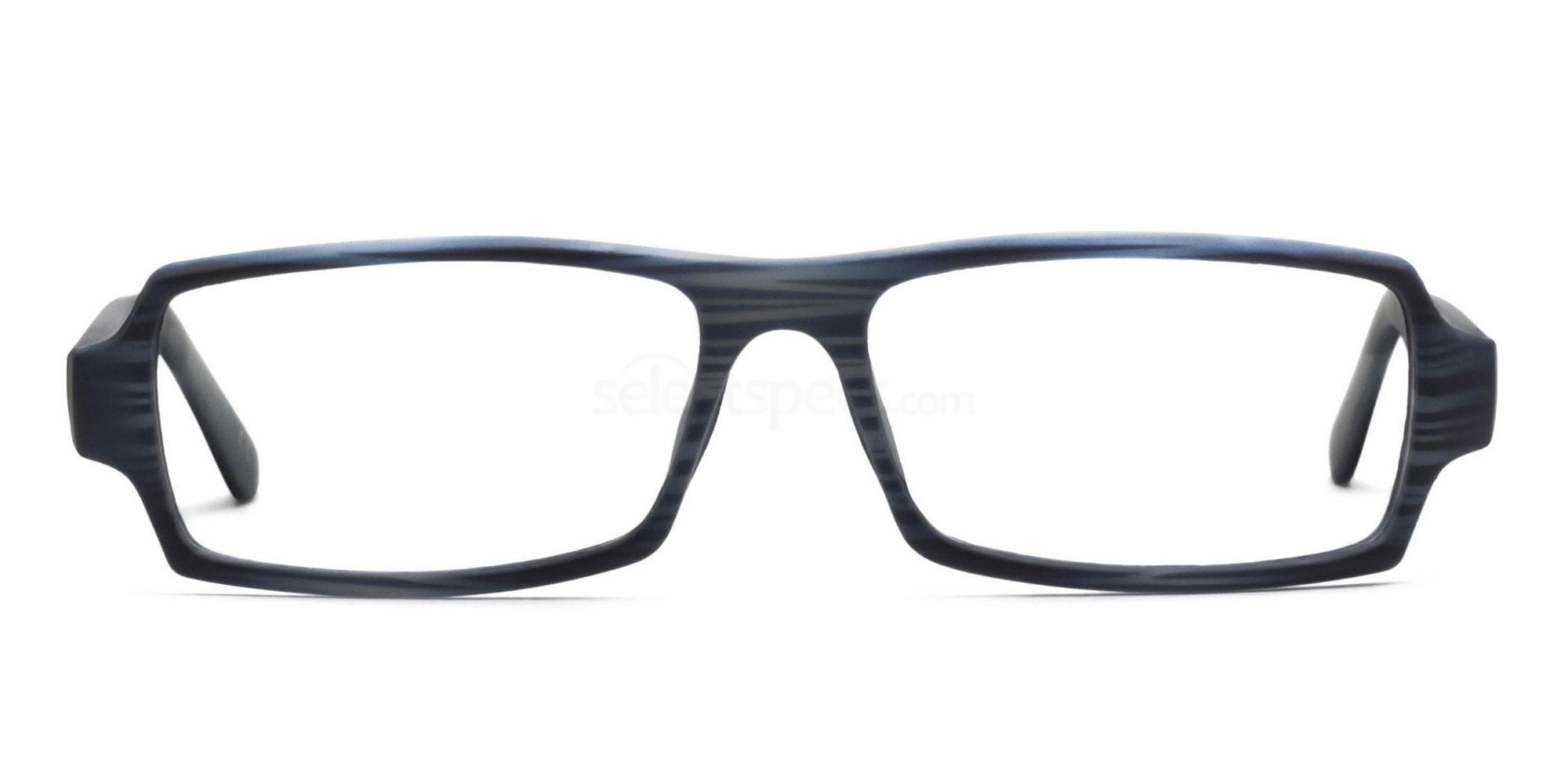 C4 Blue 77068 (Blue) Glasses, Savannah