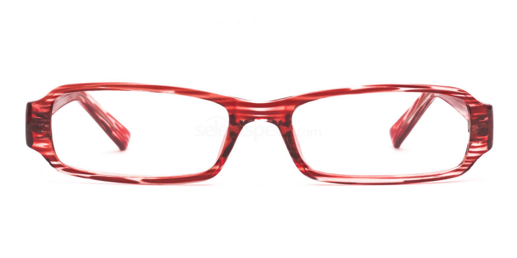 C14 Red 77088 (Red) Glasses, Savannah