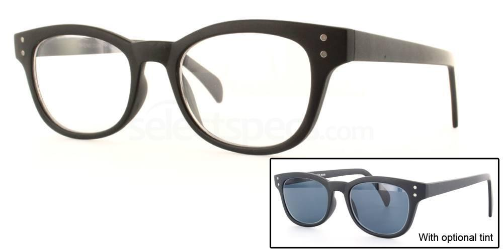 C02 2249 - Matte Black Glasses, Savannah