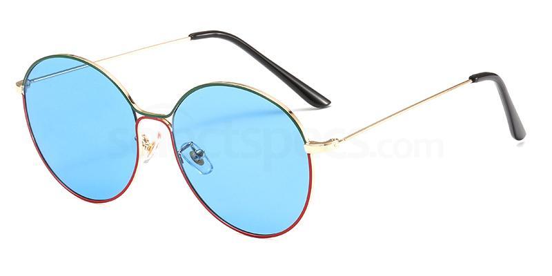 С4 DW122 Sunglasses, #totallook