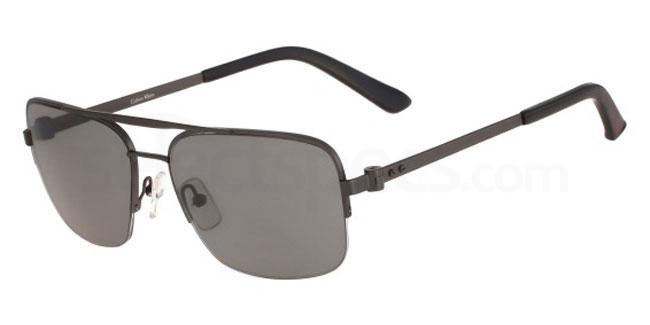 033 CK8001S Sunglasses, Calvin Klein Collection