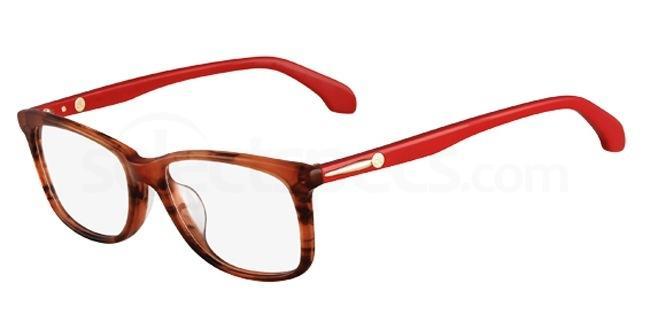 323 CK5750 Glasses, Calvin Klein Platinum
