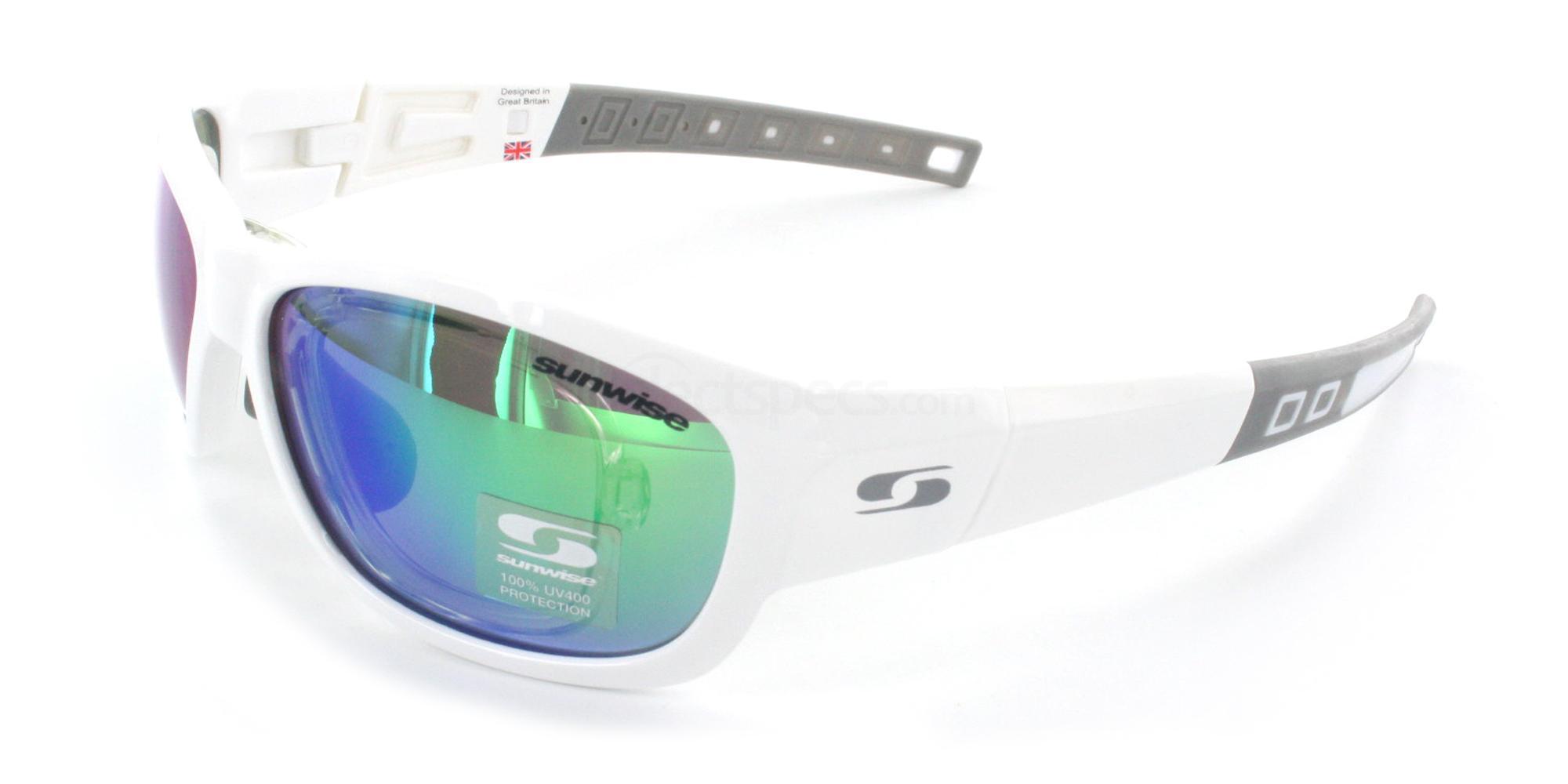 White Charleston Sunglasses, Sunwise