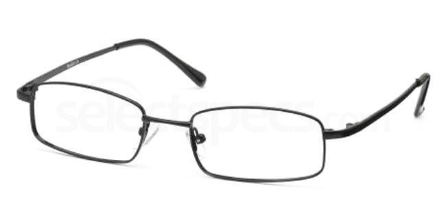 Black 9TH BASE Glasses, Look Designs KIDS