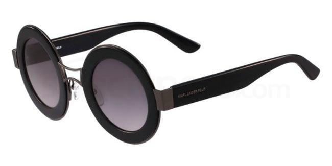 Karl Lagerfeld black/cool round shaped sunglasses
