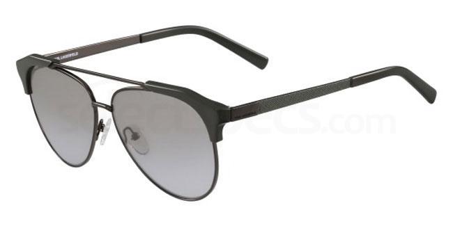 509 KL246S Sunglasses, Karl Lagerfeld