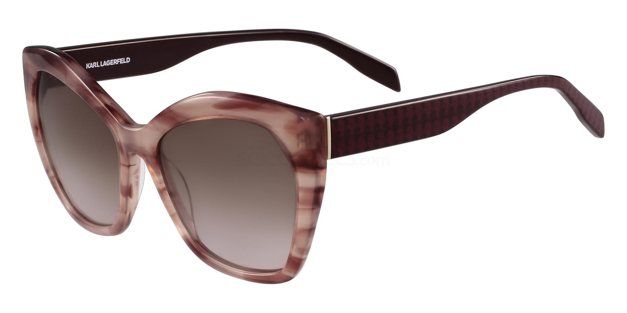 132 KL929S Sunglasses, Karl Lagerfeld