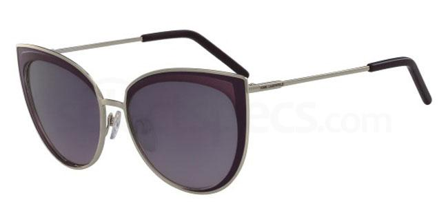 534 KL255S Sunglasses, Karl Lagerfeld