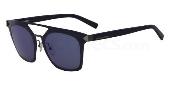 518 KL256S Sunglasses, Karl Lagerfeld