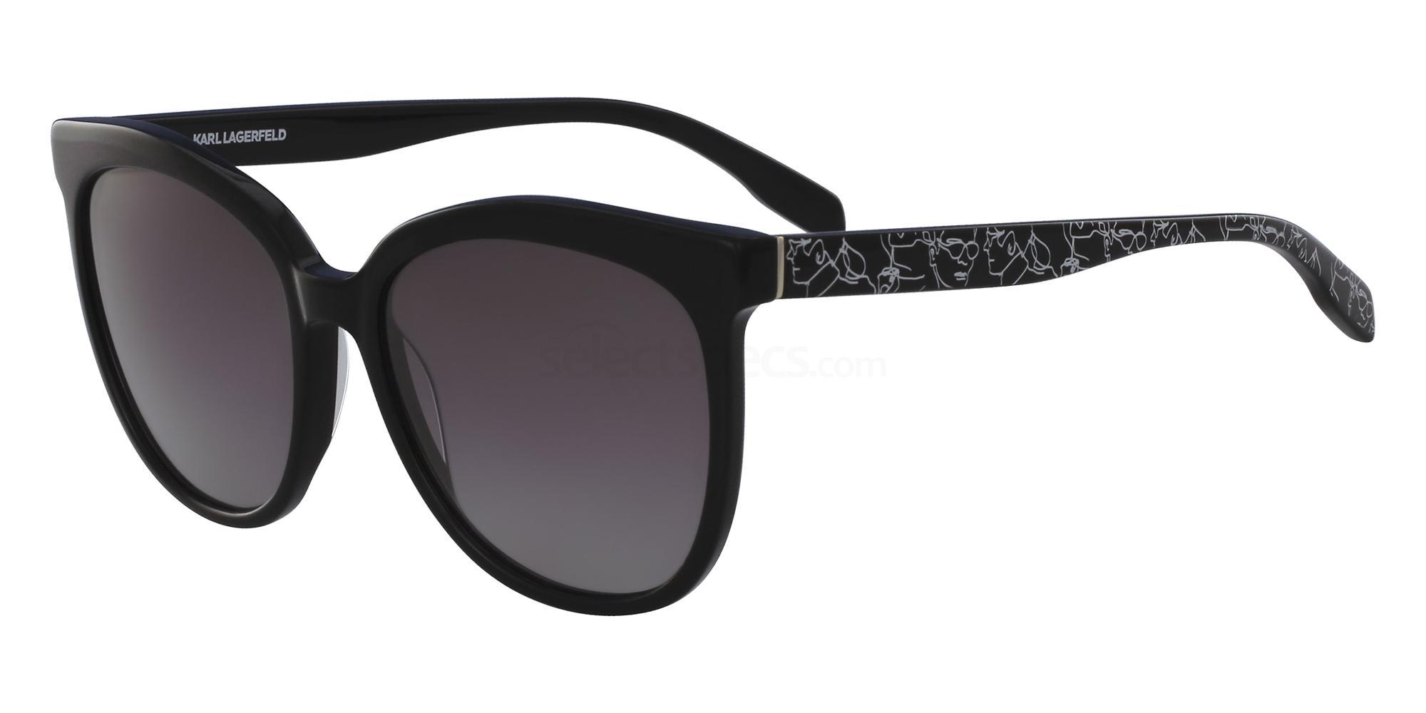 001 KL937S Sunglasses, Karl Lagerfeld
