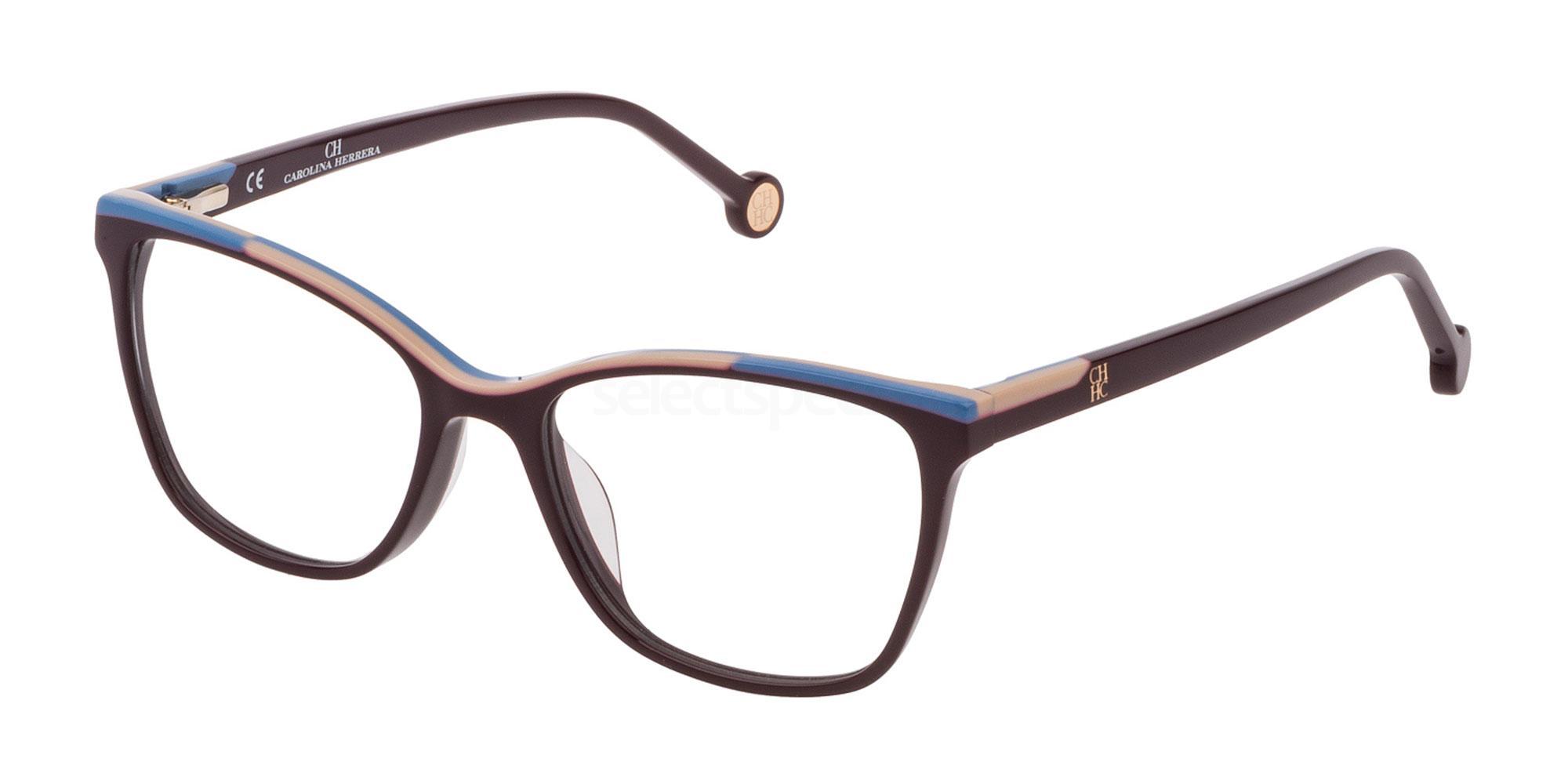 09FD VHE820L Glasses, CH Carolina Herrera