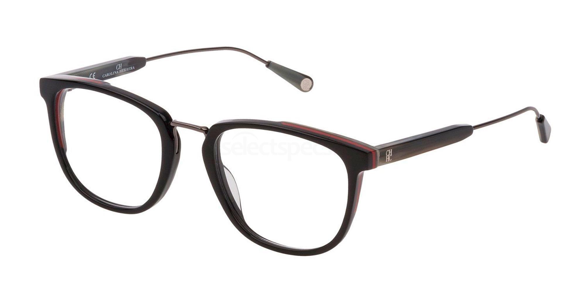 09H7 VHE812 Glasses, CH Carolina Herrera