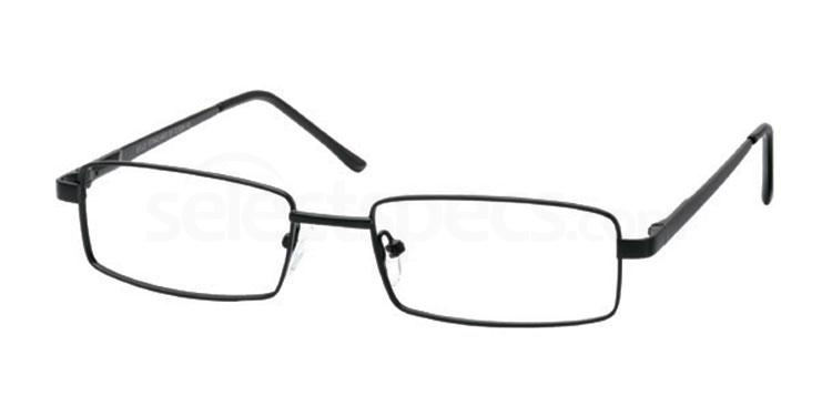 Black GS 116 Glasses, Look Designs