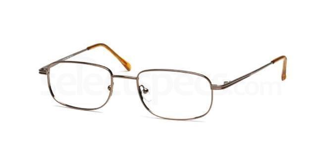 Brown Headline 102 Glasses, Look Designs