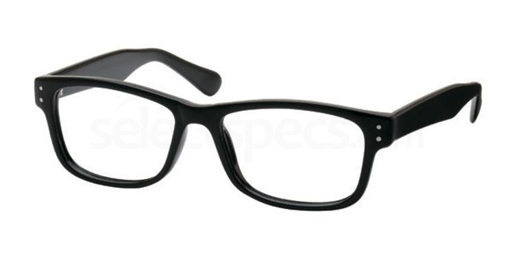 Black 14TH BASE Glasses, Look Designs