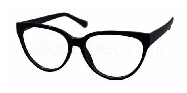 Black 18TH BASE Glasses, Look Designs