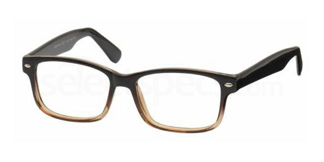 Brown Mottle 23RD BASE Glasses, Look Designs