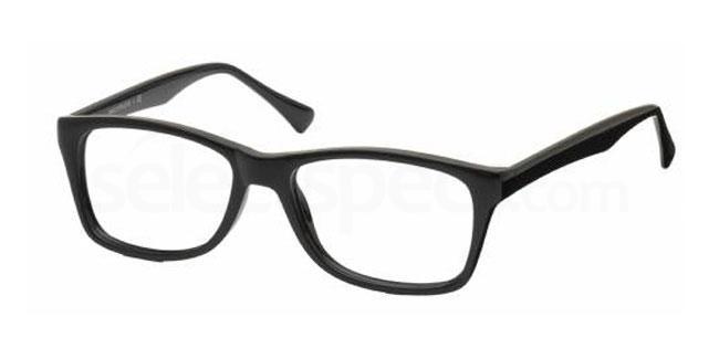 Black 26TH BASE Glasses, Look Designs