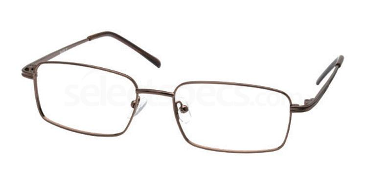 Brown 7TH BASE Glasses, Look Designs