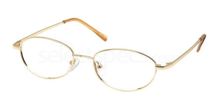 Gold 8TH BASE Glasses, Look Designs