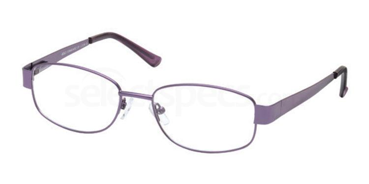 Purple GS124 Glasses, Look Designs