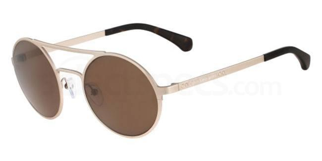 Calvin Klein sunglasses white oval