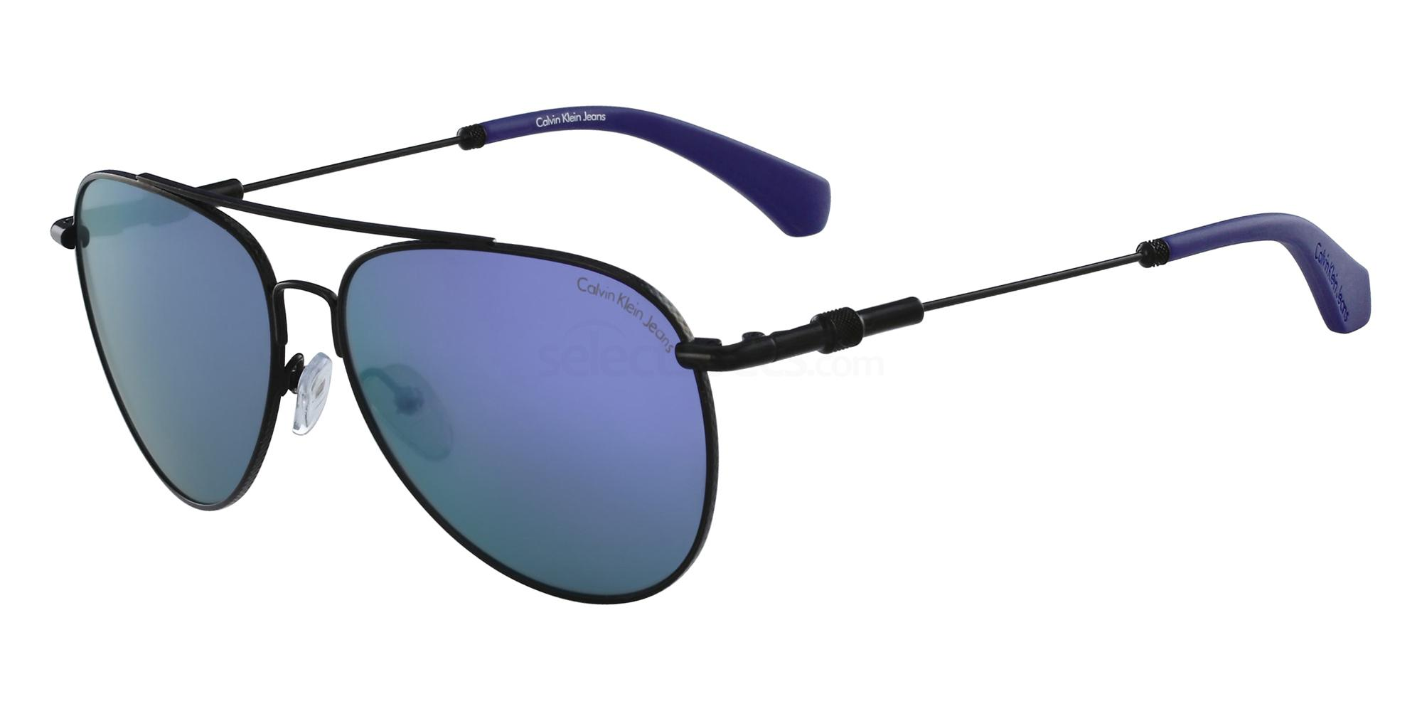 001 CKJ162S Sunglasses, Calvin Klein Jeans