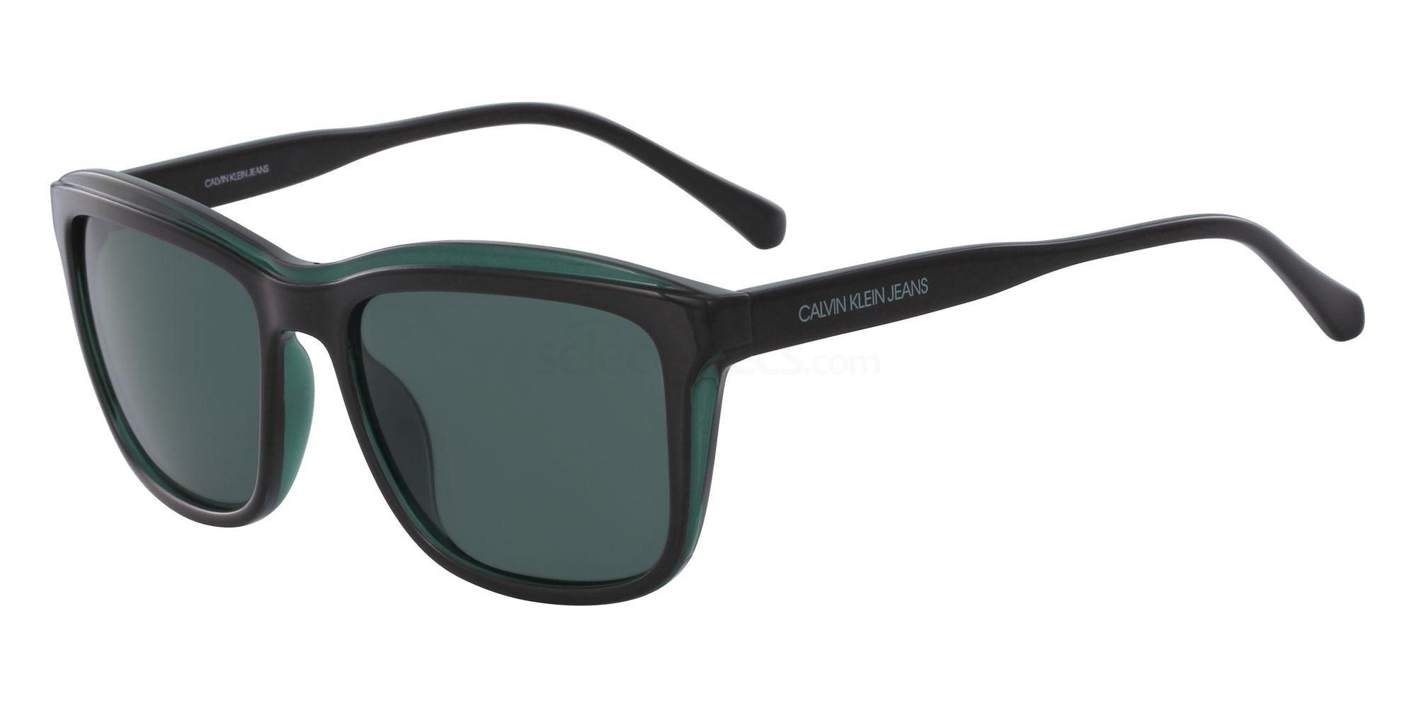 001 CKJ18504S Sunglasses, Calvin Klein Jeans