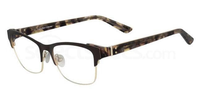 208 CK8021 Glasses, Calvin Klein Collection