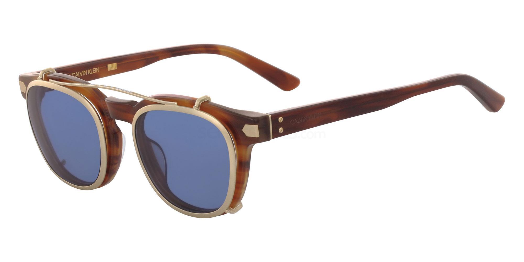 220 CK18503 CLIP SET Sunglasses, Calvin Klein