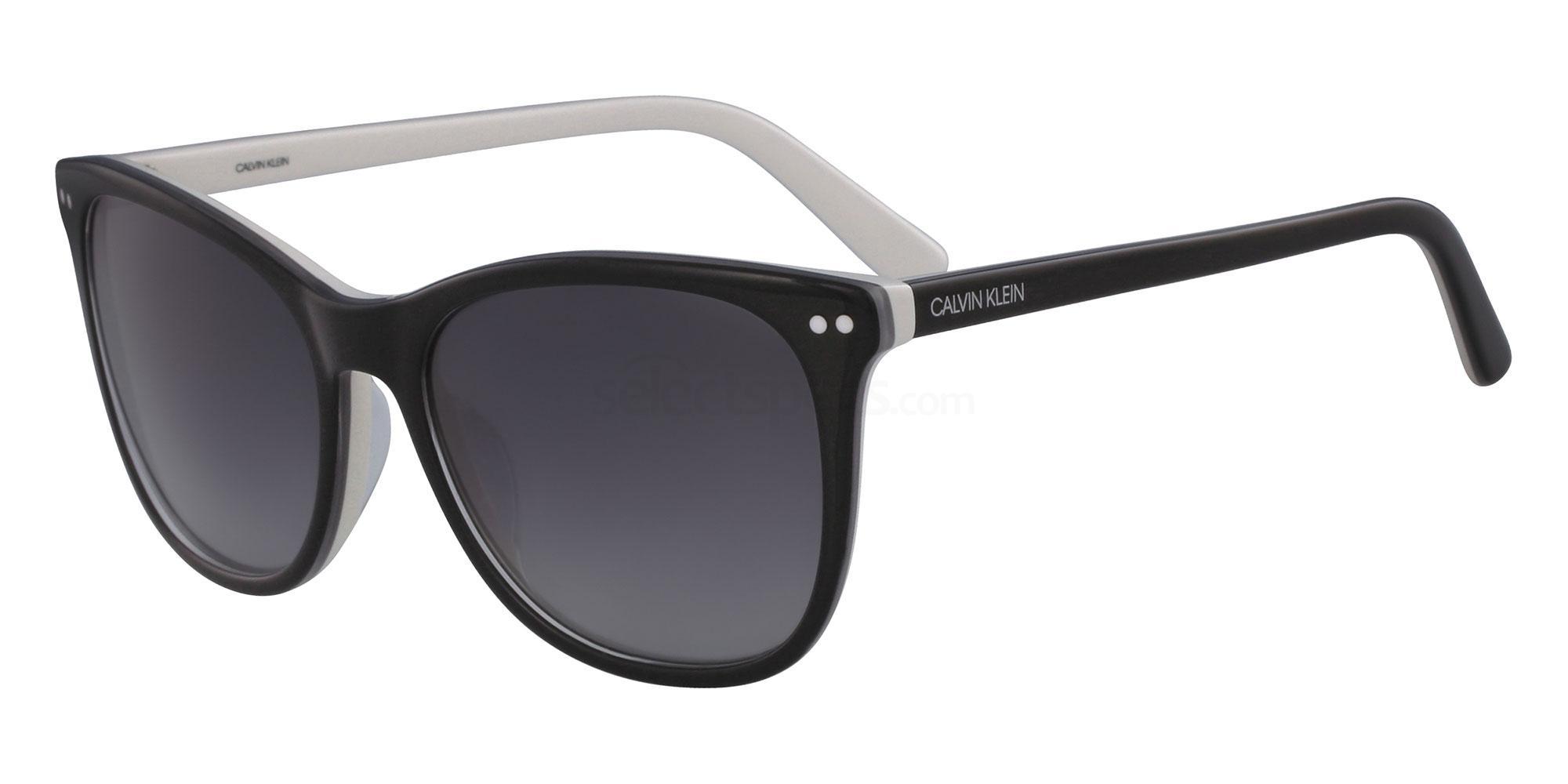 002 CK18510S Sunglasses, Calvin Klein