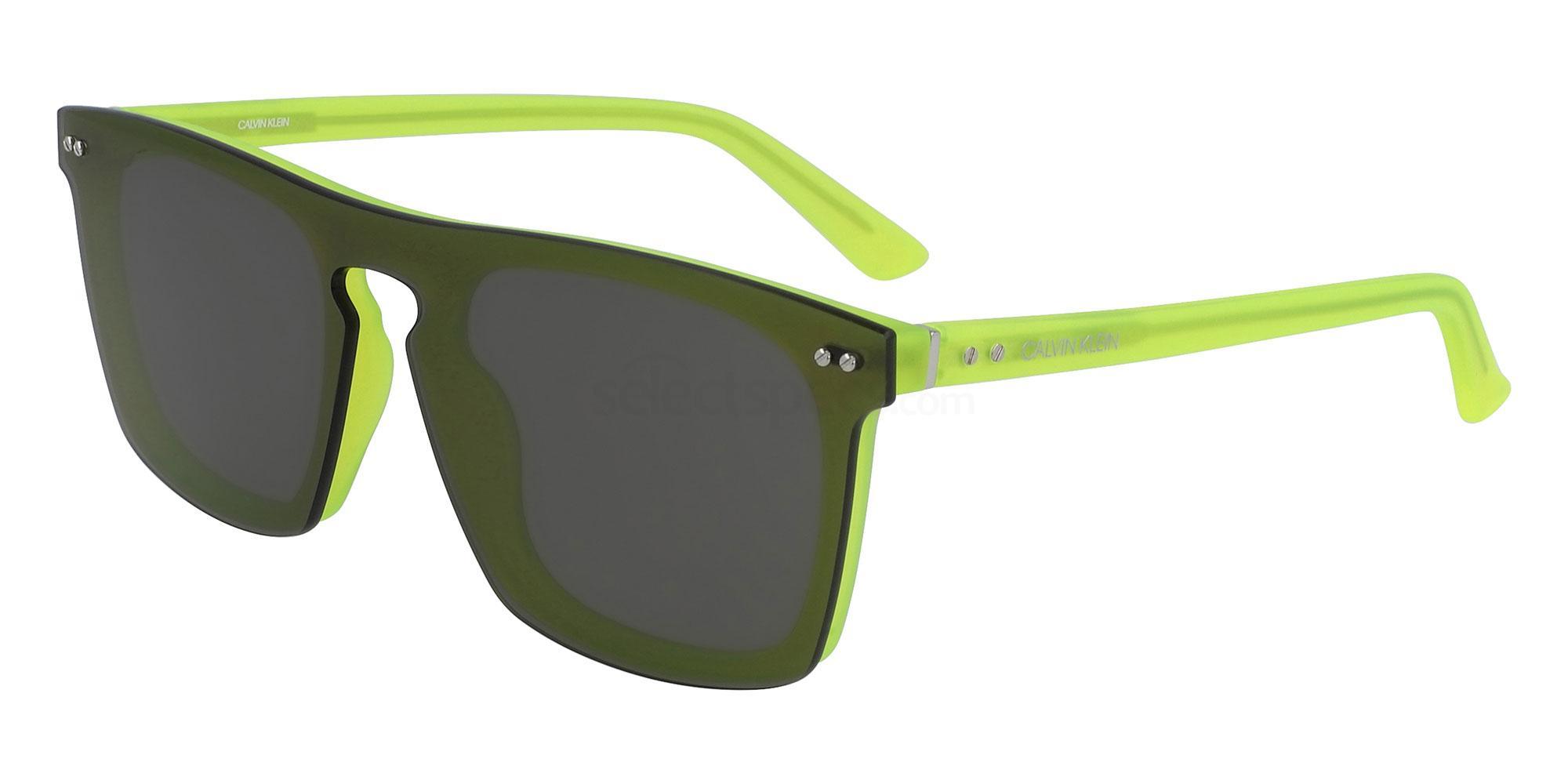 020 CK19501S Sunglasses, Calvin Klein