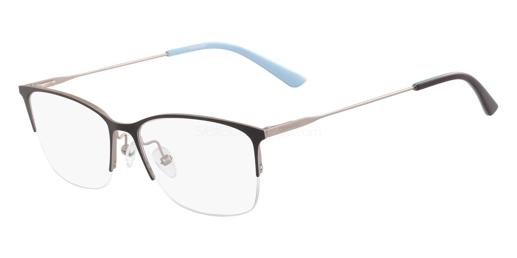001 CK18121 Glasses, Calvin Klein