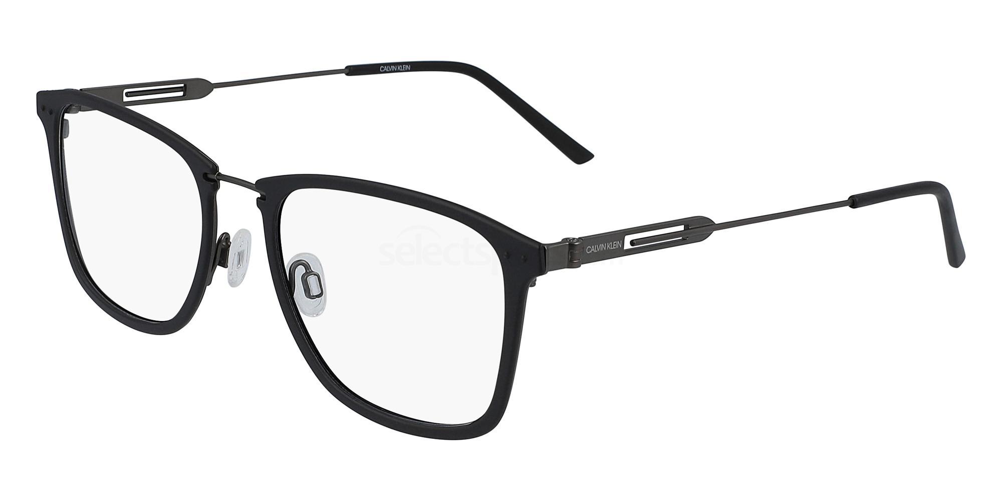 001 CK19717F Glasses, Calvin Klein