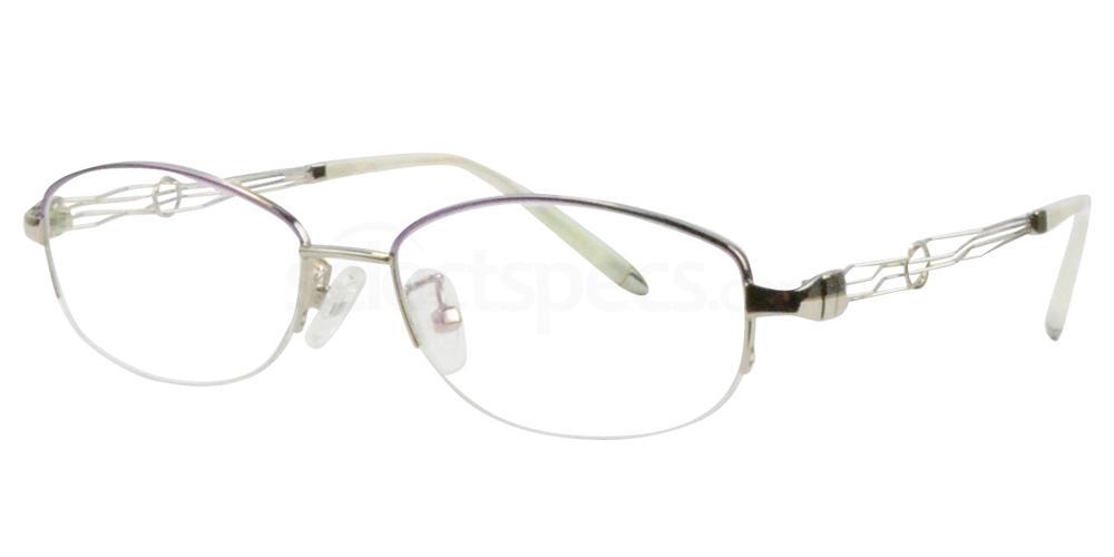Purple/Silver B-56156 Glasses, Sigma
