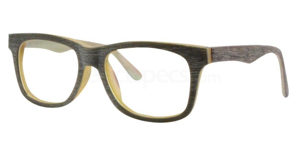 Grey/Mustard/Red SDM3021 Glasses, Sigma