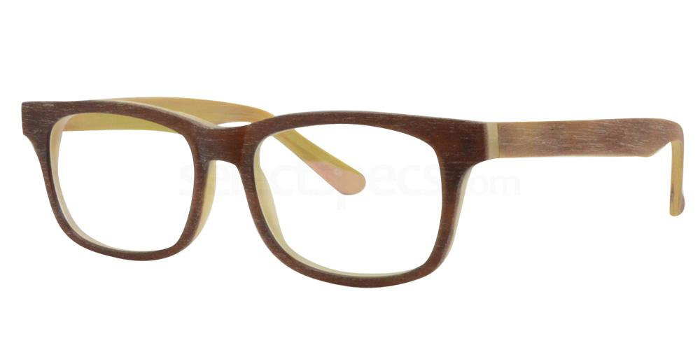 Brown/Cream SDM3014 Glasses, Sigma