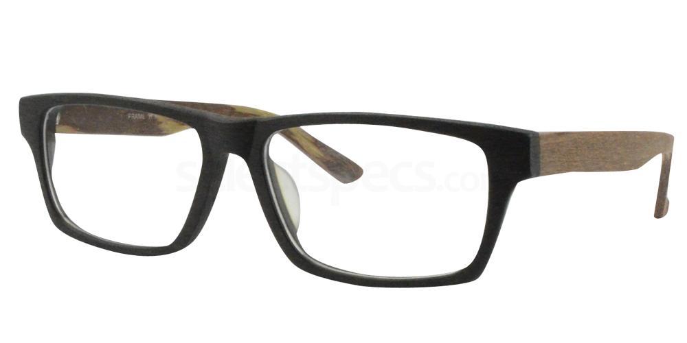 Black/Brown 1204 Glasses, Sigma